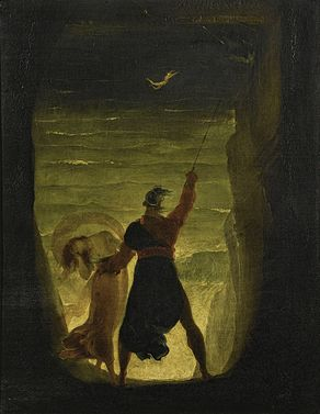 'A Scene from the Tempest, Prospero and Ariel' by Joseph Severn.jpg