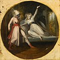 'Leonore Discovering the Dagger Left by Alonzo' by Johann Heinrich Füssli.jpg