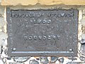 (Former) Borough of Woolwich boundary marker, Weigall Road, SE12 - geograph.org.uk - 2406224.jpg