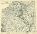 (January 13, 1945), HQ Twelfth Army Group situation map. LOC 2004630316.tif