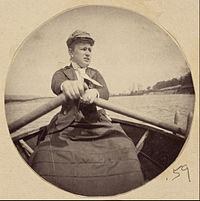 (Woman in Hat Rowing a Boat) - Google Art Project.jpg