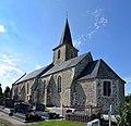 Église Saint-Martin de Saint-Martin-de-Bonfossé. Vue sud-est.jpg