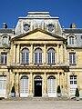 Épinay-Champlâtreux (95), château de Champlâtreux, façade est, pavillon central.jpg