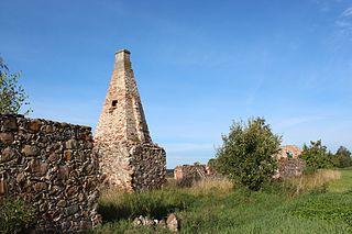 Õuna Village in Jõgeva County, Estonia