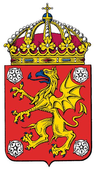 East Middle Sweden - Image: Östergötlands läns vapen