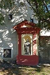 Socha svatého Jana Nepomuckého u Slepého ramene