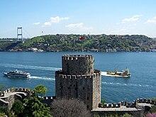 Reich Istanbul Türkei Faks/_M 004 Rumelihisar iskelesi Rumeli Hisari Osman