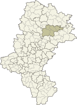 Location within Silesian Voivodeship