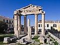 Πύλη Αρχαίας Ρωμαϊκής Αγοράς, Αθήνα 6186.jpg