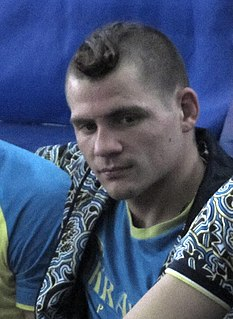 Denys Berinchyk Ukrainian boxer