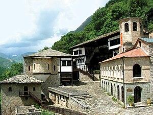 Saint Jovan Bigorski Monastery - Image: Бигорский монастырь