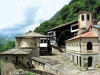 Saint Jovan Bigorski Monastery monastery in North Macedonia