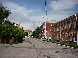 Uman - Image: Вулиця Енгельса (Умань)