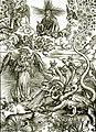 Дюрер Женщина-Солнце и семиголовый Дракон.jpg