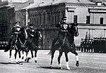 Маршал Советского Союза Л.А. Говоров принимает первомайский парад в Москве.jpg