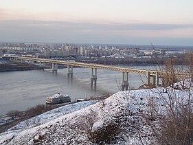 Финансирование строительства метромоста через Оку в Нижнем Новгороде в 2010 году составит 1,6 млрд. рублей.