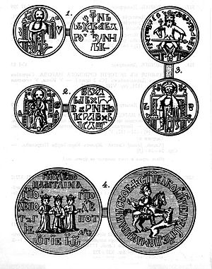 Medieval Serbian coinage - Examples of Serbian dinars.