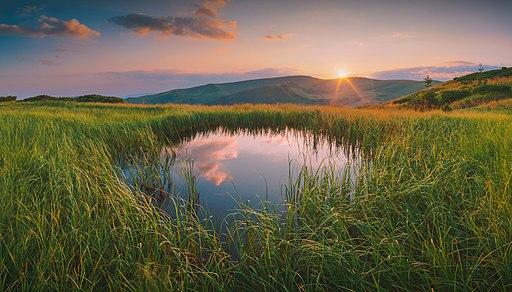Озерами Свидовця