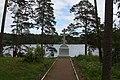 ПОКЛОННЫЙ КРЕСТ РЯДОМ СО СКИТОМ ВО ИМЯ ИКОНЫ СМОЛЕНСКОЙ БОЖЬЕЙ МАТЕРИ - panoramio.jpg