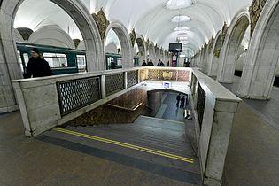 павелецкая метро фото