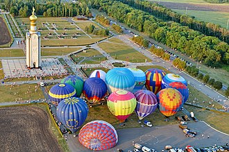 Prokhorovsky District - Parade balloons, Prokhorovka Battlefield, Prokhorovsky District
