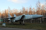 Сверхзвуковая легенда^ МиГ-25. Музей гражданской авиации. Ульяновск. Ноябрь 2013 - panoramio.jpg