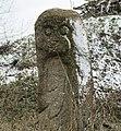 Скіфський стан на Хортиці. Кам'яний Скіф біля кургану. V ст.до н.е.jpg