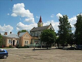 Staryi Sambir City in Lviv Oblast, Ukraine