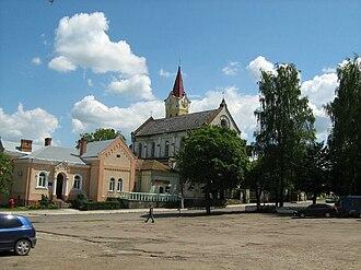 Staryi Sambir - Main square