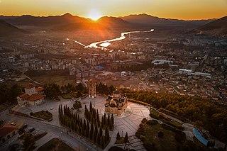 Trebinje City in Republika Srpska, Bosnia and Herzegovina
