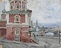 Якунчикова (Вебер) Мария Васильевна Церковь в Москве 1890.jpg
