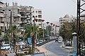 الطريق بعد دوار الكسوة الكبير The way after the big square in Al Kiswah city - panoramio.jpg