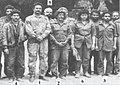 مجموعة من الضباط من الذين أسروا في معارك منطقة وادى الدوم - مارس 1987.jpg