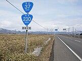 National Route 37 i Oshamambe, Hokkaido