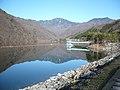 広瀬湖ダムから木賊山(トクサヤマ)を望む - panoramio.jpg