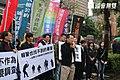 民間司改會等公民團體在立法院前召開「報警也找不到暴警」記者會.JPG