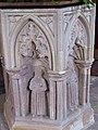-2020-01-22 Baptismal font detail, Saint Botolph's, Hevingham.JPG