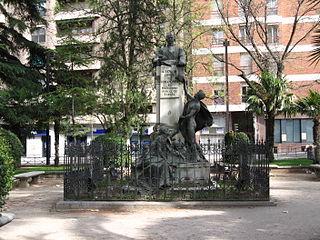 Monumento al Conde de Romanones, Guadalajara