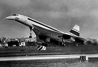 Maiden flight - Concorde on March 2, 1969