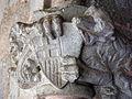 037 Castell de Santa Florentina (Canet de Mar), capitell del porxo del pati d'armes.JPG