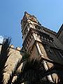 0498 - Palermo, Cattedrale - Torre della facciata (sec. XV) - Foto Giovanni Dall'Orto 28-Sept-2006.jpg
