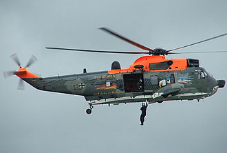 Westland Sea King - German SAR Sea King during an operation, 2005