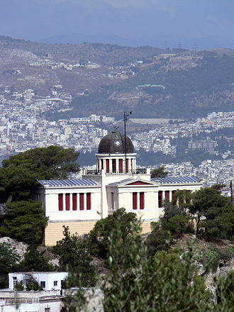Theophil Hansen - Image: 07Athen Observatorium 1