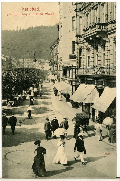 File:09929-Karlsbad-1908-Eingang Alte Wiese-Brück & Sohn Kunstverlag.jpg