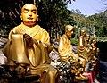 10,000 Buddhas Monastery, Sha Tin, Hong Kong; March 2009.jpg