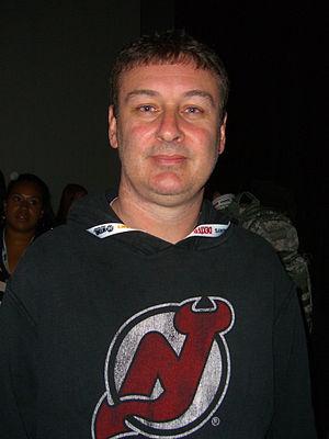 Walt Flanagan - Flanagan at the 2012 New York Comic Con.