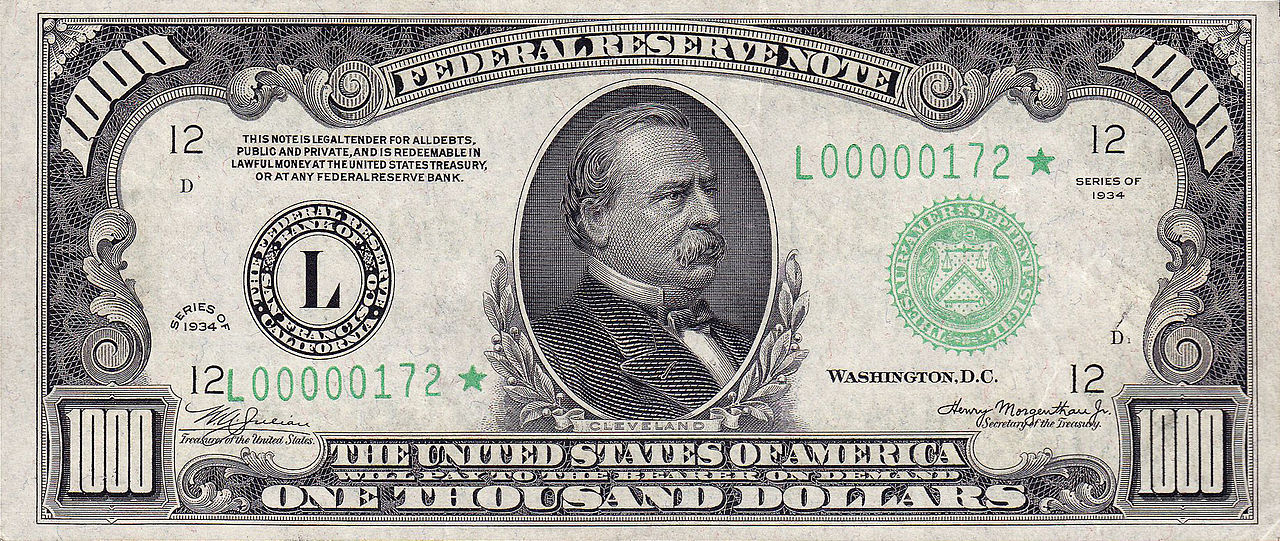 Obsolete denominations of United States currency - Wikiwand