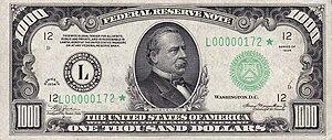 1000 USD note; series of 1934; obverse.jpg