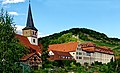 11.08.2019 Ingelfingen, St. Nikolaus, Schloss und Burg Lichteneck.jpg