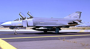114th Fighter Squadron - 114th Tactical Fighter Training Squadron F-4C Phantom II 63-7581, about 1985